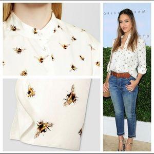 NWT 3X Victoria Beckham for Target Bee Shirt 🐝